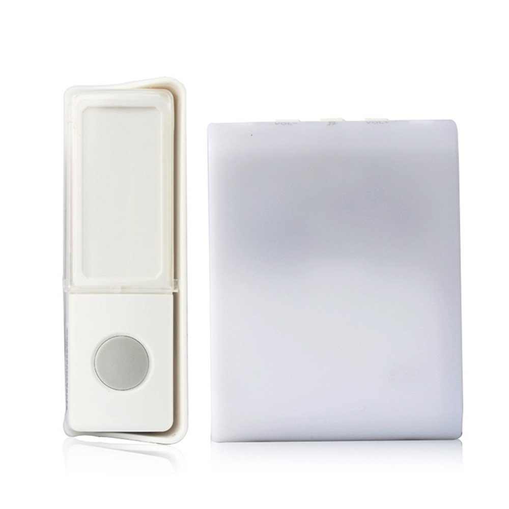 7 Color Flash Music Doorbell - Wireless Doorbell,Music Can Be Changed 16 songs 3 modes music for The Deaf/Old men Seldorauk(Pack of 1)