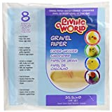 Living World Gravel Paper, Round 14-Inches, 8-Pack