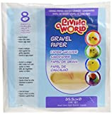 Living World Gravel Paper, Round 14 inches,...