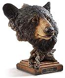 Deep Woods - Black Bear Sculpture by Stephen Herrero