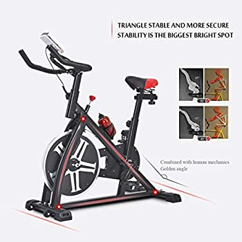 Details about  /Fitness Workout Gym /& Home Indoor Exercise Bike Stationary Bicycle Cardio Loss