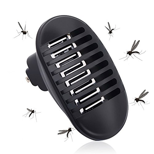 Sanwo [2018 Upgrade] Indoor Electonic Insect Killer | Bug Mosquitoes Zapper with Lamp UV Light Trap | Eliminates Most Flying Pests - Moth, Wasp, Perfect for Bedroom Nursery by Sanwo