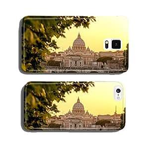 Basilica di San Pietro with bridge in Vatican, Rome, Italy cell phone cover case iPhone6