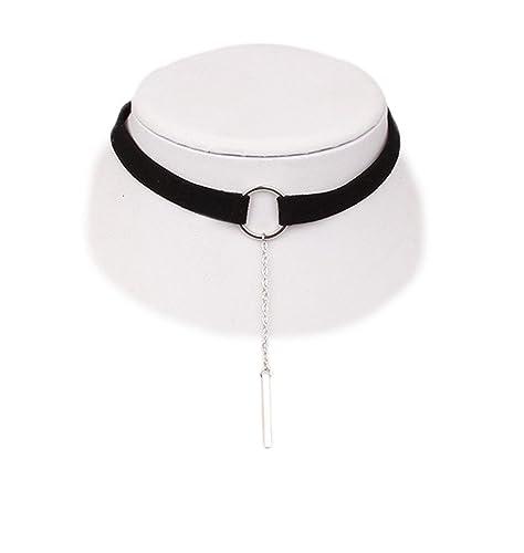 collier ras de cou pendant