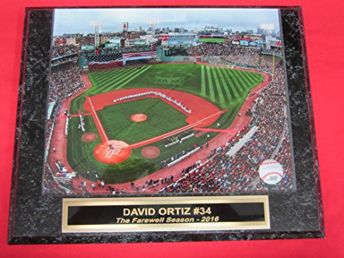 Red Sox David Ortiz Collector Plaque w/8x10 Final Season Photo from Fenway Park!