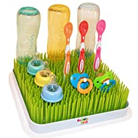 Kuddly Kids Large Lawn Drying Rack Baby Bottle Dish Rack Excellent Drying Gra...