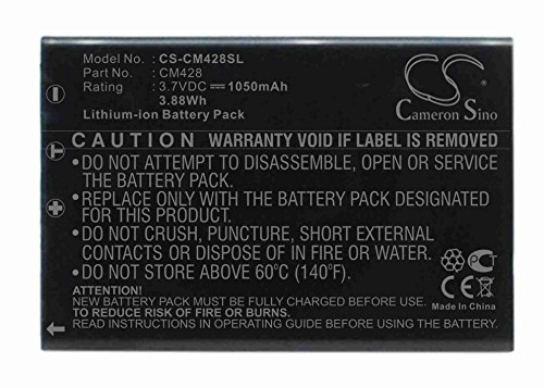 Cameron Sino 1050mAh Battery for Creative DiVi CAM 428 Portable MP3 Play