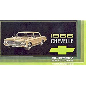 1966 Chevrolet Chevelle Accessories Sales Brochure