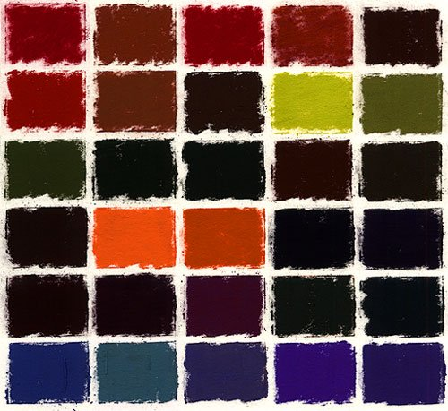 Terry Ludwig Soft Pastels- 30 Intense Darks by Terry Ludwig