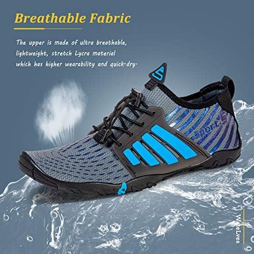 51JNiiepbQL. AC Water Shoes Mens Womens Beach Swim Shoes Quick-Dry Aqua Socks Pool Shoes for Surf Yoga Water Aerobics    Product Description