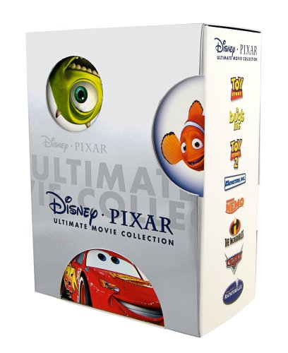Disney Pixar Ultimate Movie Collection (Toy Story / Toy Story 2 / Finding Nemo / The Incredibles / A Bug's Life / Monsters, Inc. / Cars / - Ratatouille Dvd Movie