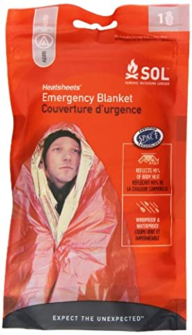 Survive Outdoors Longer Emergency Blanket - Outdoor Gear