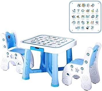 CTC Juego de mesa y silla para niños, sala de juegos multifunción ...