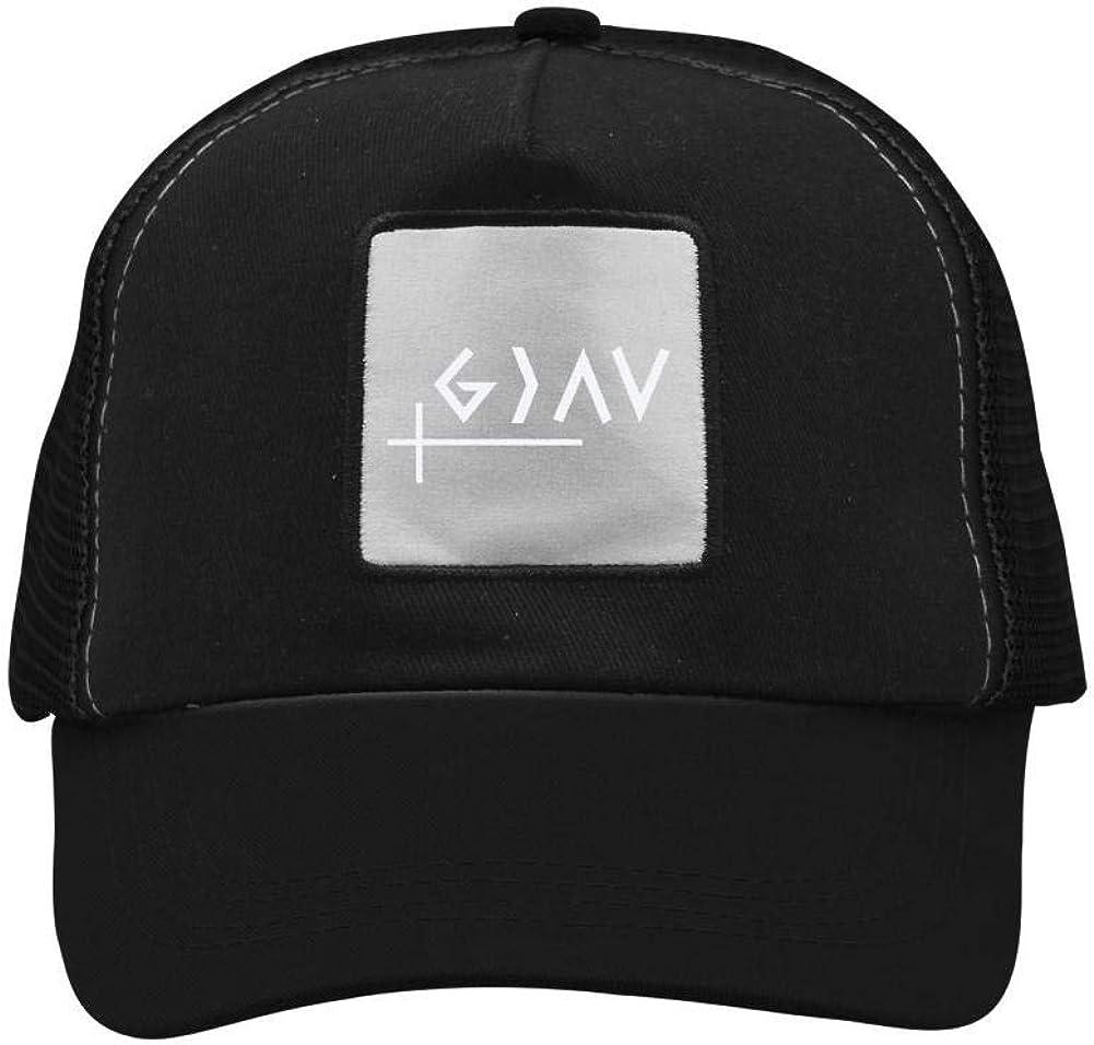 Nichildshoes hat Mesh Caps Hats for Men Women Unisex Print God is Greater