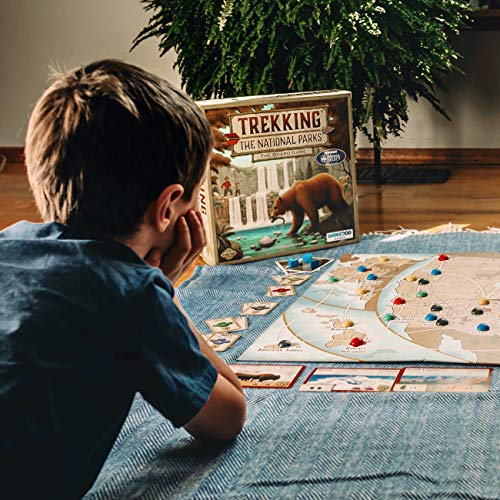 Trekking The Parks: The Family Board Game