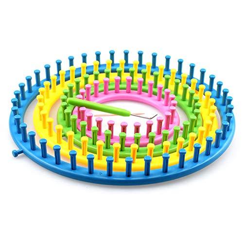 FidgetFidget Round Circle Hat Classical Knifty Knitter Knitting Knit Loom Kit Tool Kit 4 Size
