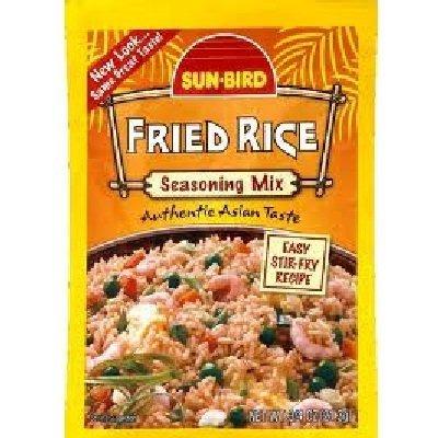 Sunbird Fried Rice Mix, 0.75 Ounce -- 12 per case. by Sun - Rice Sun