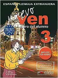 Nuevo ven 3 - libro del alumno + CD audio: Vol. 3 Métodos