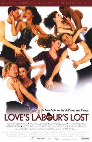 ArtFuzz Love's Labour's Lost Movie Poster Print