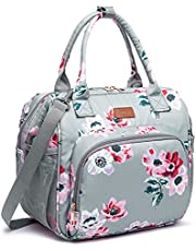 Lunch bags Insulated Lunch Box for Women Men,3 Carrying Way Large Tote Bag,Leakproof Reusable Cooler Backpack with Adjustable Shoulder Strap for School Office Picnic Beach