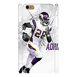 Fantastic Sports Series Football Player Photograph Phone Shell for Iphone 6 Plus Case - 5.5 Inch