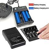 USB Smart Battery Charger 4-Bay 5V 2A for
