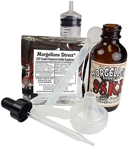Morgellons Direct SSKI Potassium Iodide Solutions Mixing Kit