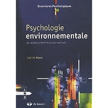 Psychologie environnementale ouvertures psycho.
