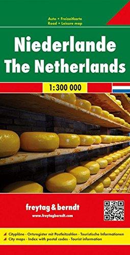 Niederlande, Autokarte 1:300.000, freytag & berndt Auto + Freizeitkarten