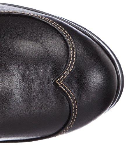 Knee Women's Pleaser Polyurethane High 302 Boot Black Crypto qHtaxSv