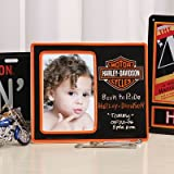 "4"" x 6"" Harley Davidson Kids Black Photo Picture Frame"