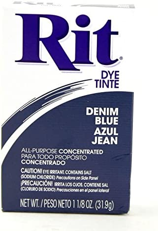 Rit Concentrated Powder Dye Blue 31.9g