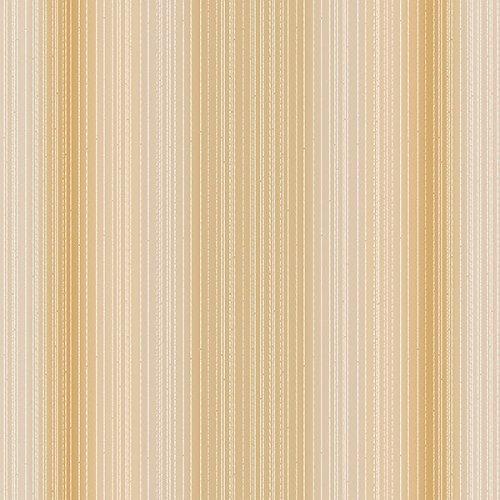 CS35611 - Classic Silks 3 Striped Beige Copper Galerie Wallpaper by Galerie
