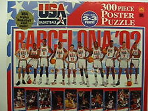 Dream Team USA Basketball 300 Piece Poster Puzzle ()
