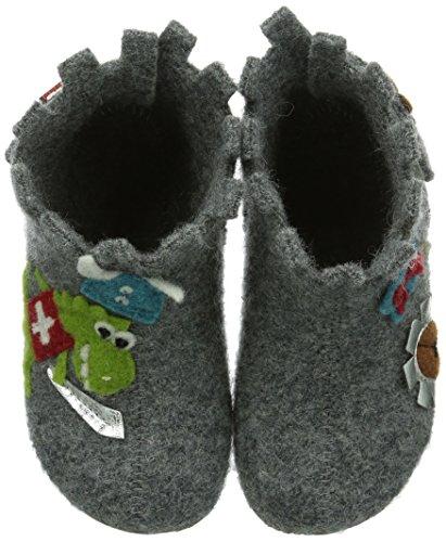 Babyklett 610 Gris Garçon Ritterburg Living Marche Grau Bébé Kitzbühel Chaussures 5qSAwFA