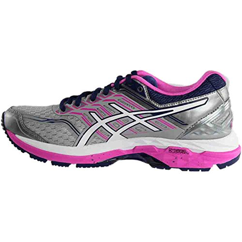 Pictures of ASICS Women's Gt-2000 5 Running Shoe T759N.9601 Pink Glow/White/Dark Purple 5