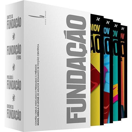 Box Fundação - Declínio e Queda (Volumes 4, 5, 6 e 7)