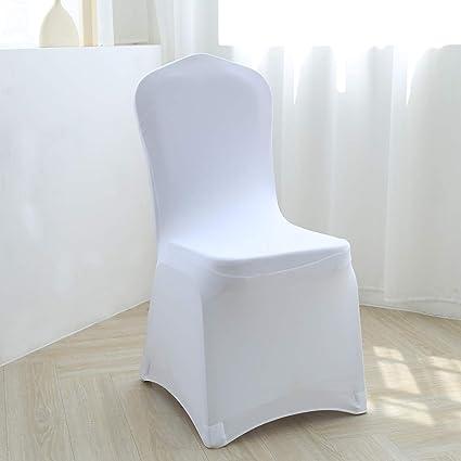YZEO Spandex Fundas para sillas de Licra universales ...