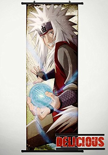 Naruto Home Decor Japanese Anime Cosplay Wall Scroll Poster