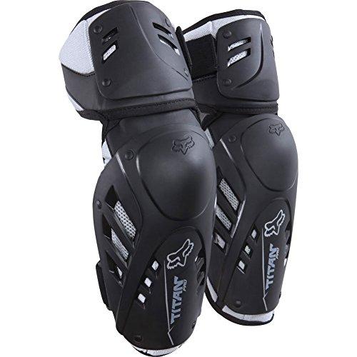 Fox Racing Titan Pro Adult Elbow Guard MotoX Motorcycle Body Armor - Black / Small/Medium - Elbow Forearm Guard