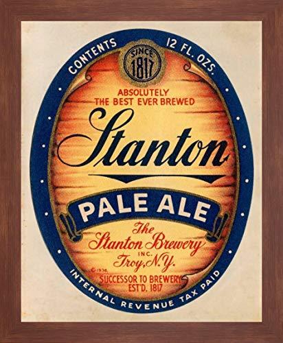 Stanton Pale Ale Beer by Vintage Booze Labels - 20