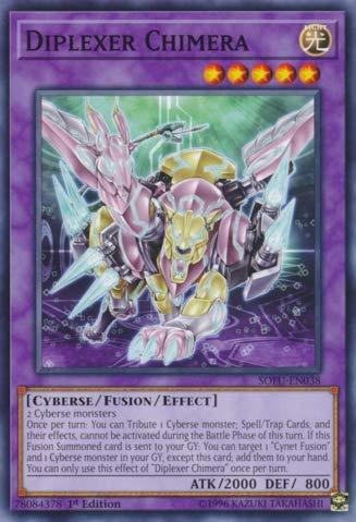 Yu-Gi-Oh! - Diplexer Chimera - SOFU-EN038 - Soul Fusion - 1st Edition - Common