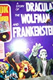 A Story of Dracula the Wolfman and Frankenstein - 1975 Book and Record