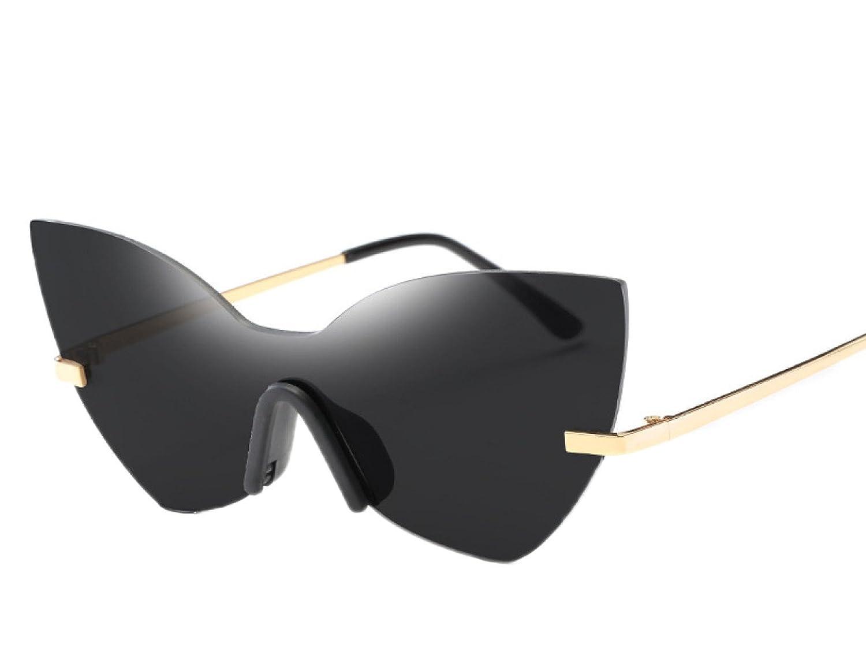 ZPFME Siameses Sin Rebordes Del Ojo De Gato (no Polarizado) Gafas De Sol Con Protección UV (UV400) Alta Calidad De Moda Moderno Disponible En 6 Colores, ...