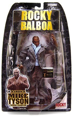 Jakks Pacific Rocky V and VI (Series 5 and 6) Action Figure Iron Mike Tyson 5 Action Figure Iron