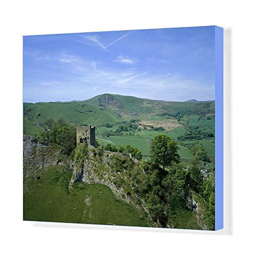 Media Storehouse 20x16 Canvas Print of Peveril Castle K041035 ()