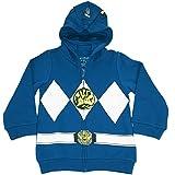 Power Rangers The Big Boys I Am Costume Zip Hoodie Blue 7/8