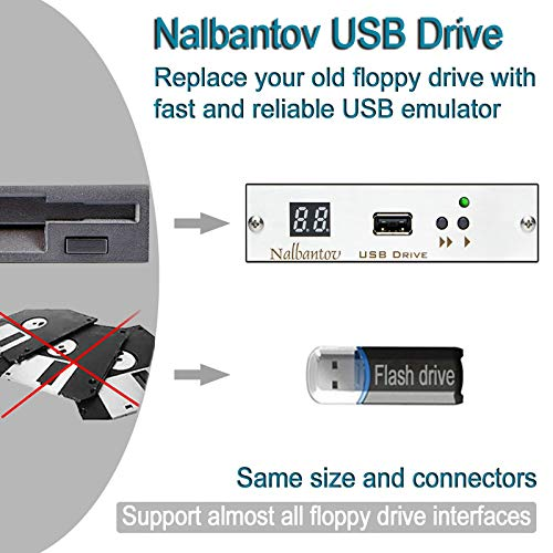 Used, Nalbantov Industrial USB Floppy Disk Drive Emulator for sale  Delivered anywhere in Canada