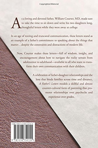 A Father's Letters: To His College Daughters: William Courter M.D.