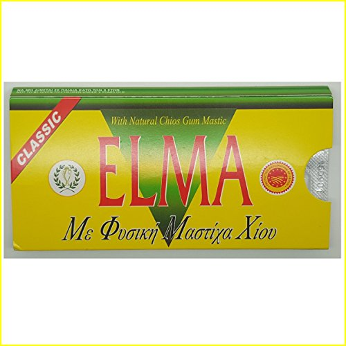 Mediterranean Kitchen Mastic: ELMA CLASSIC Greek Chewing Gum With Natural Chios Resin